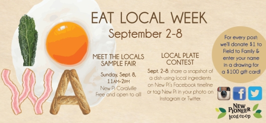 Eat Local Week!