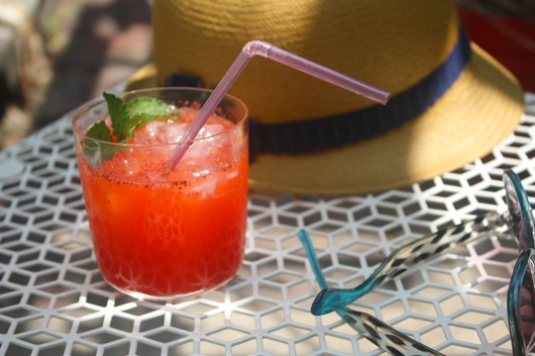 New Pi Eats Strawberry Lemonade